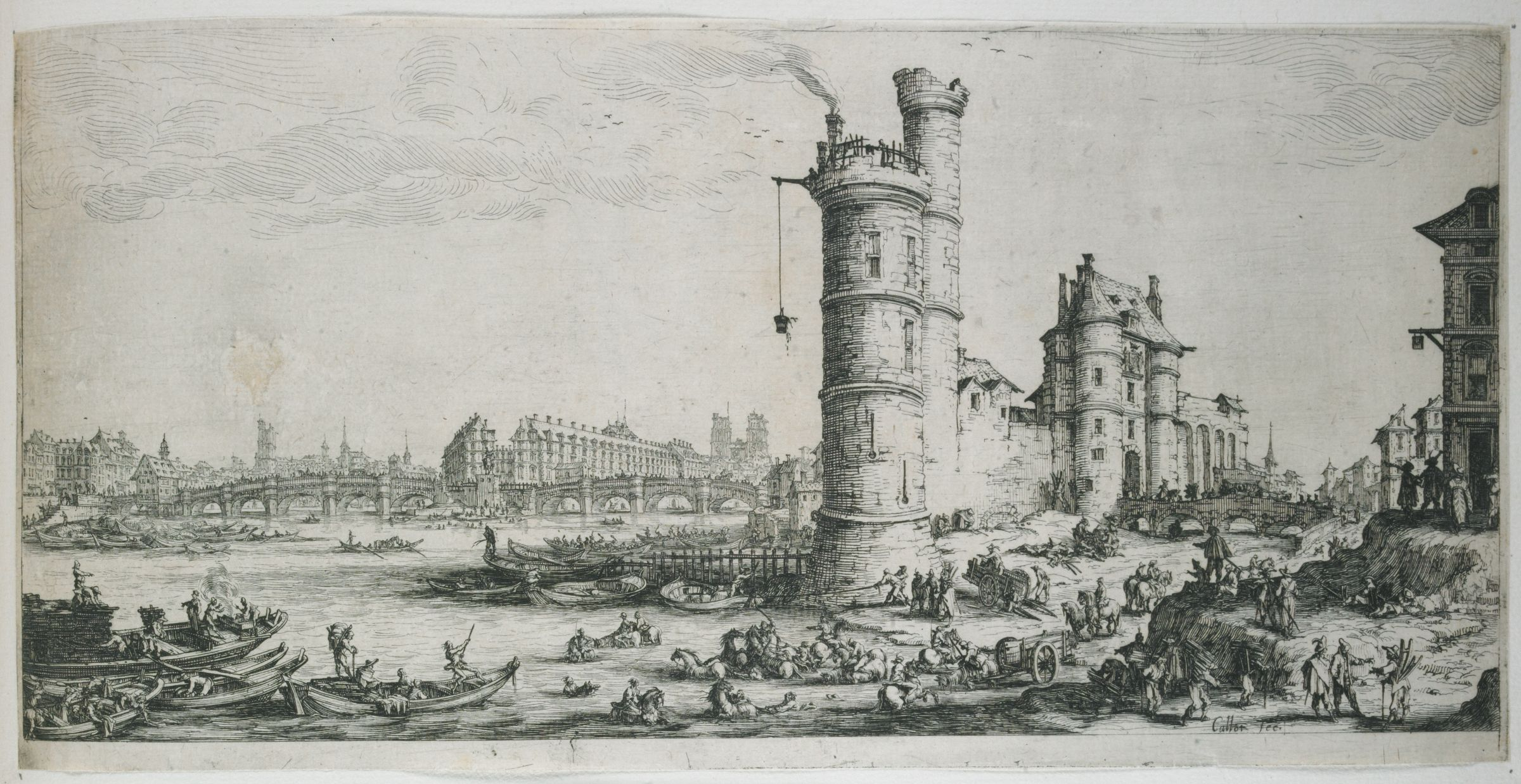View Of The Pont Neuf, Paris