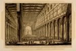 Cross-Section of the Interior of the Basilica of San Paolo fuori delle Mura