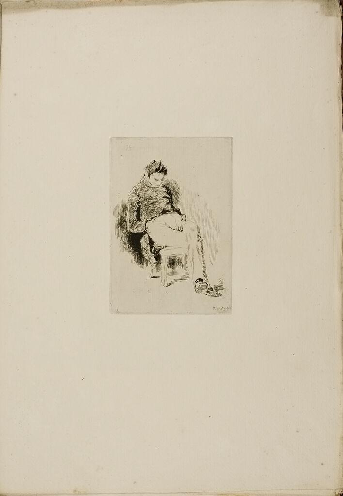 Seated Man (Sleeping Man)