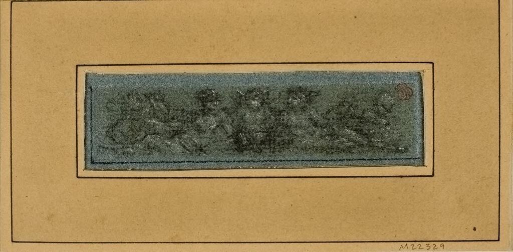 Ornamental Frieze Of Putti