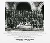 Harvard Law Review Board of Editors photograph collection