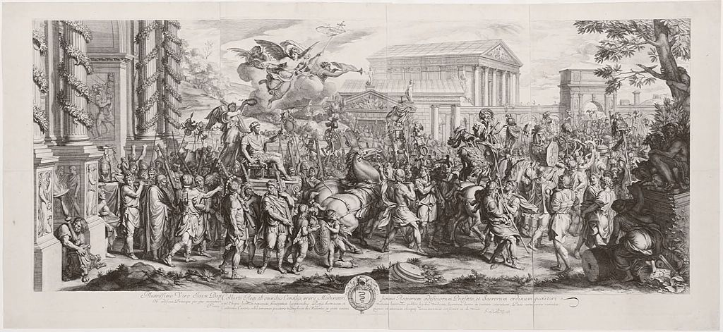 The Triumphal Entry Of Constantine Into Rome