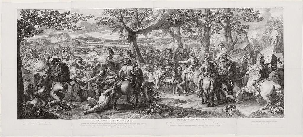 Porus Brought Before Alexander