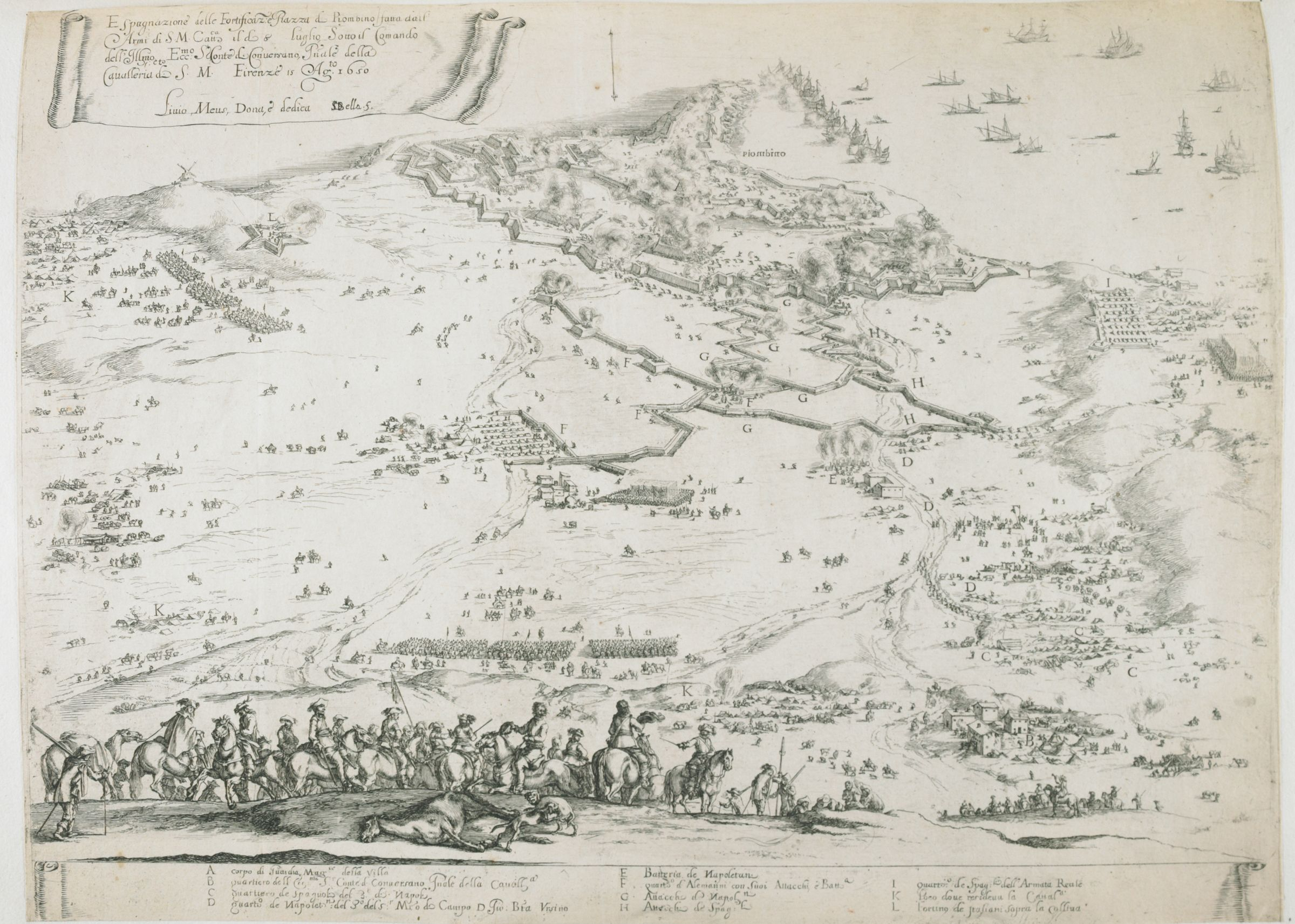 The Siege Of Piombino