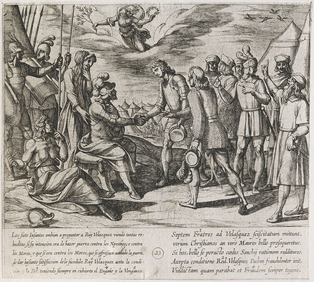 The Infantes Offer Their Assistance To Ruy Velazquez And He Falsely Makes Peace With Them