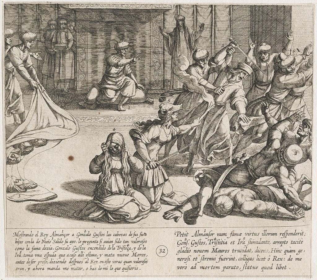 In Revenge, Gonzalo Gustos Slays Nine Moors